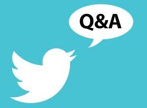 Twitter Q&A…